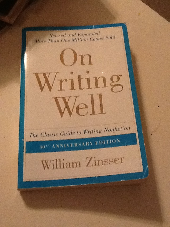 a book analysis of on writing well by william zinsser On writing well, 30th anniversary edition: an informal guide to writing nonfiction - ebook (9780062250506) by william zinsser.